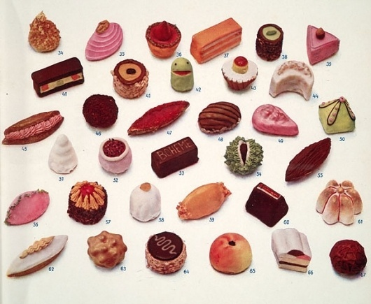 Fritz Blank's - Feasting Never Stops #candy #illustration #food