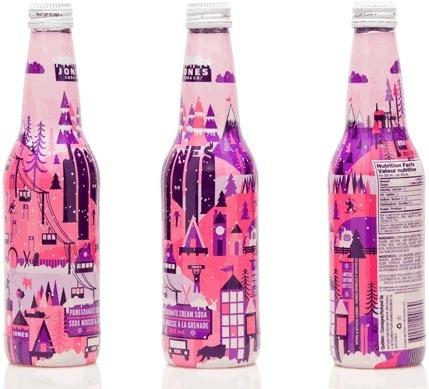 SB_Jones_Jumble_Winter #packaging #illustration #bottle