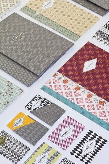 North: St Pancras Renaissance Hotel | Tundra Blog #pattern #branding #print #art #deco