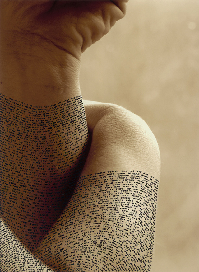 Calligraphy on the Human Body3 #calligraphy #tattoo #ink #body
