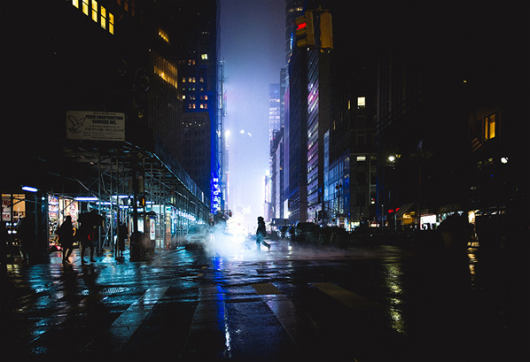My vision of New York by Photographer Renaud JULIAN #city #night #trip #photography #york #new