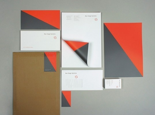 lovely stationery new image systems1 #letterhead #identity #branding #stationery