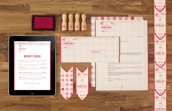 Sugar Deli Food Center NYC on Behance #packaging #identity #food