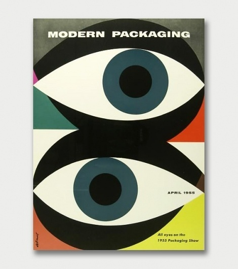 Walter Allner – Modern Packaging, 1950s/60s / Aqua-Velvet #cover #illustration #book
