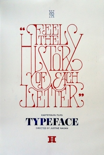 TYPEFACE Film on the Behance Network #typeface #typography