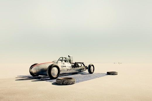 a time to get: Flat Out #aluminum #flats #car #salt #desert