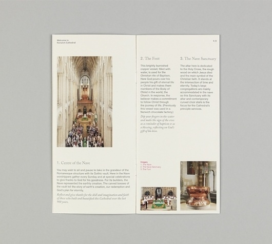 Norwich Cathedral #print #layout #brochure