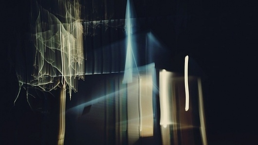 True Blood Title Sequence on Motion Graphics Served #title #distortion #sequence #film #light