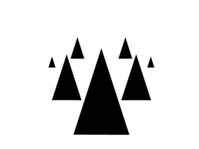 Some Pine Trees #trees #minimal