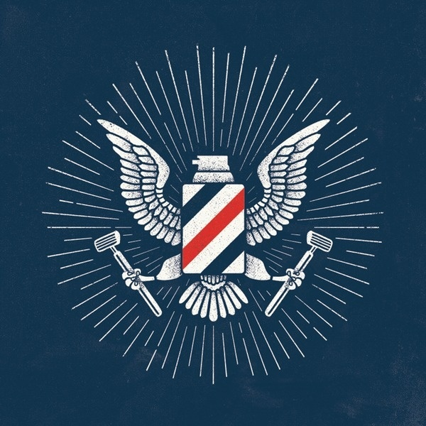 Barbasol Eagle #shop #barber #eagle #vintage #logo
