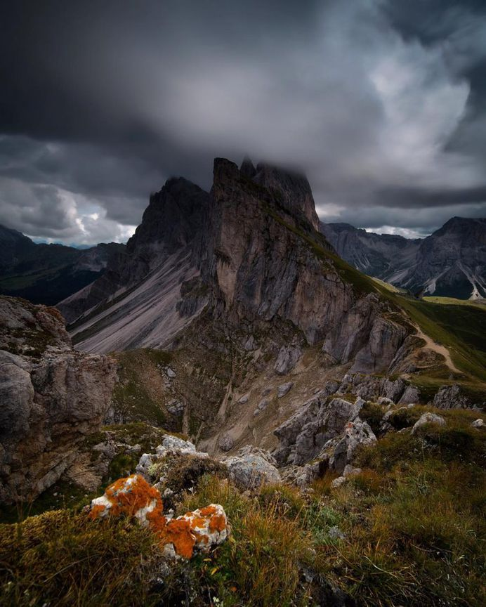 Impressive and Atmospheric Mountain Landscapes by Melissa Whellams