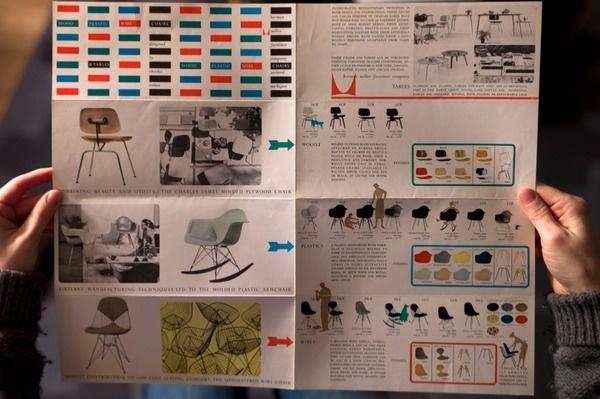 typetoy.tumblr.com #miller #catalog #catalogue #furniture #layout #herman #brochure #eames