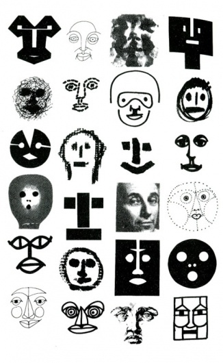 Every reform movement has a lunatic fringe #various #blackandwhite #faces #series