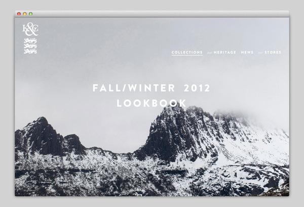 Kent & Curwen #website #layout #design #web