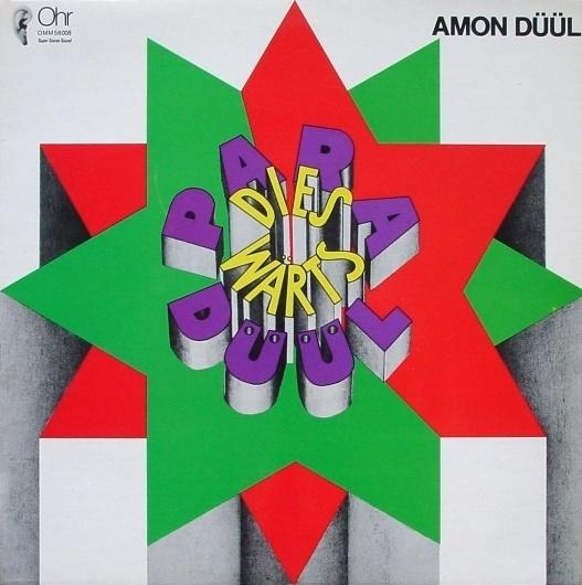 All sizes | Amon Düül | Paradieswärts Düül | Flickr - Photo Sharing! #album #cover #drawn #type #hand