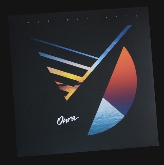 Lovely record cover for Onra #onra #cover #record #shape #80s #colour