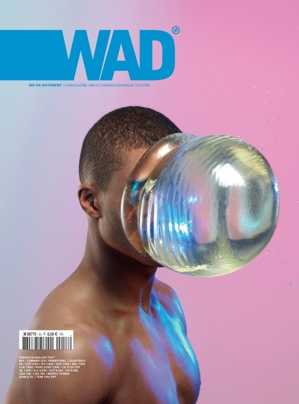 Art Direction of WAD magazine on the Behance Network #cover #design #graphic