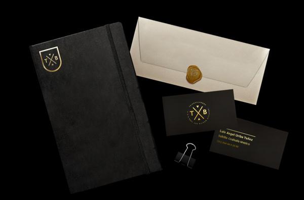 Triangularboy Self Promotion. on Behance #business #branding #card #envelope #moleskine #indeny