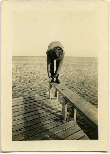 Photo Anonymous picture . in front of . grab from... - lacremedence #photography #vintage