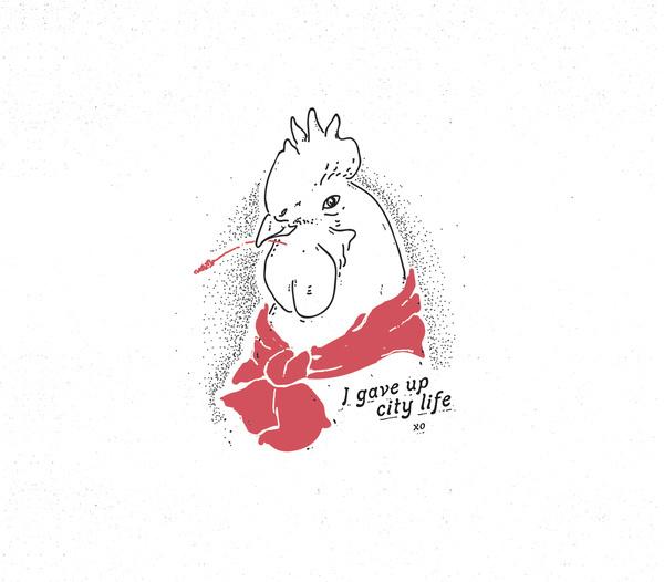 Fine Chicken ~ Mr Kyle Mac #line #kyle #illustration #mr #chicken #drawing #sketch #mac