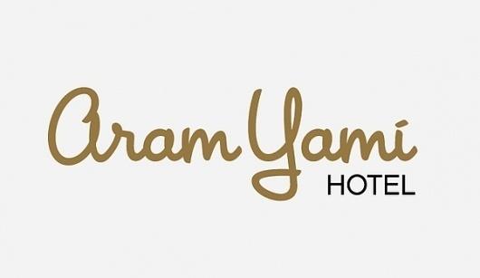 Aram Yami Hotel · Brand Identity & Website on the Behance Network #yoyo #corporate #identity #hotel #logo