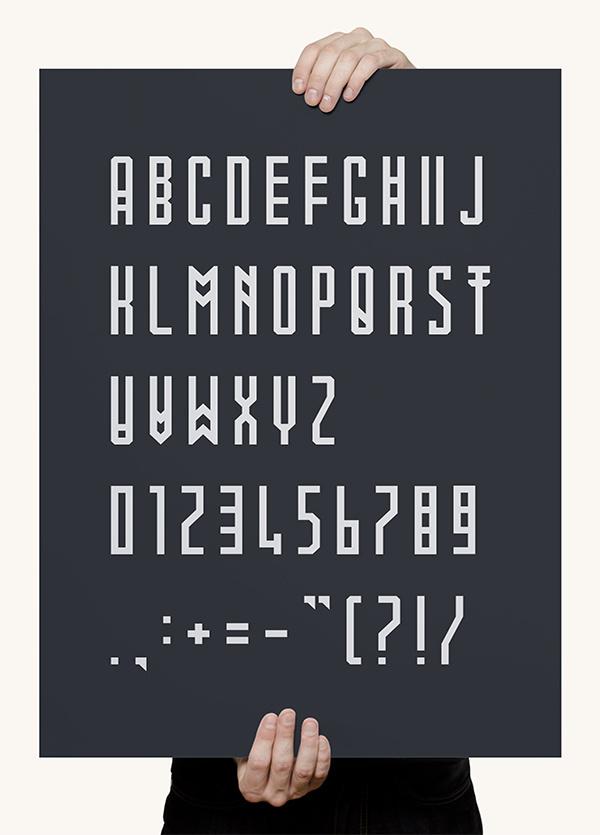 Mowai font on Behance