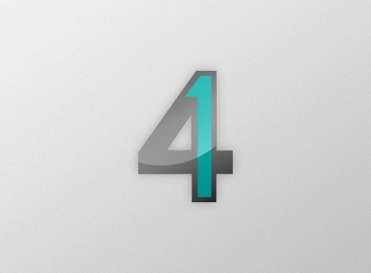 41 (mkn design - Michael Nÿkamp) #numbers #aqua #fit