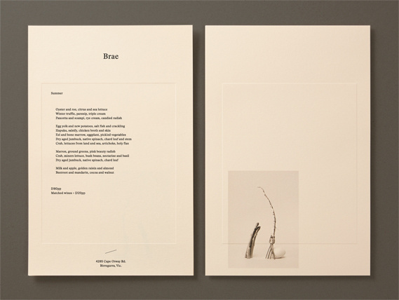 Creative Review Round's earthy identity for Brae #creative #earthy #review #brae #identity #rounds