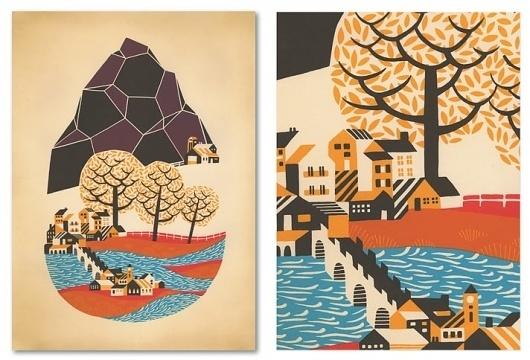 Andrew Holder #print #screen #illustration #holder #paper #andrew