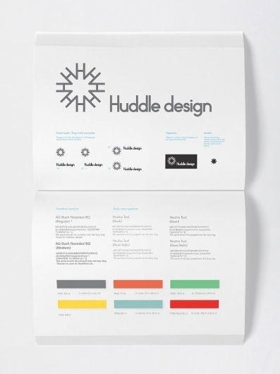 Huddle design - Projects - A Friend Of Mine #style #guidelines #branding #guide