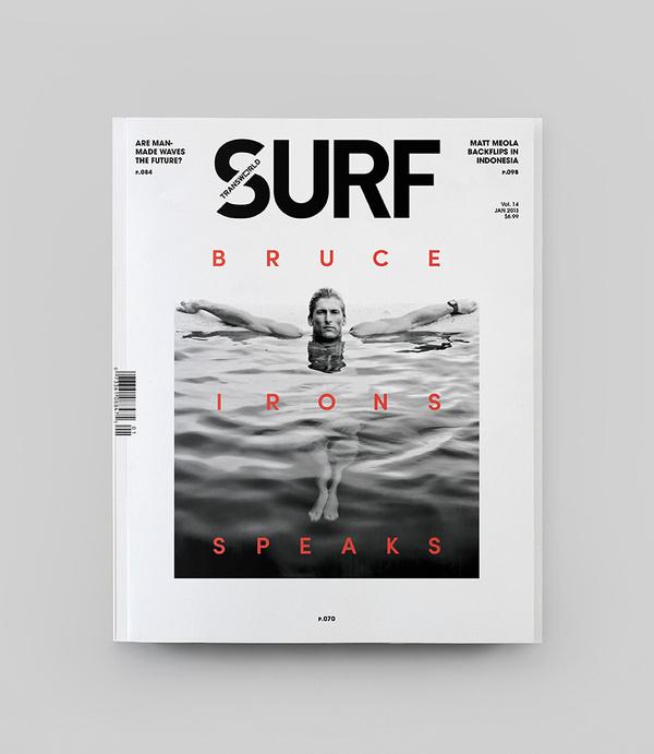 Pollen | blog #surfing #print #layout #magazine #typography