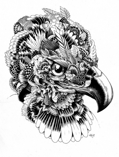 c2af8a8d1bd8549a4f77c9891318c403.jpg 600×786 pixels #iain #shapes #illustration #nature #geoetric #macarthur #animal