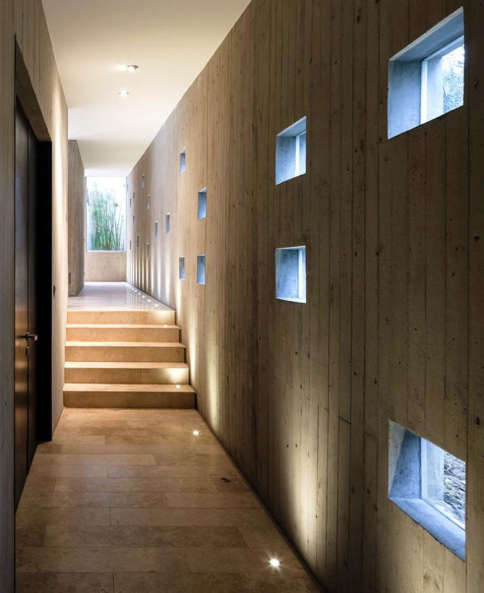 Fortress-Like Futuristic Concrete House - architecture, house, house design, dream home, #architecture
