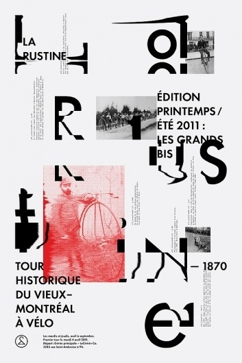 LE CINTRÉ & CO, EVENT POSTER on the Behance Network #design #graphic #experimental #poster #typography
