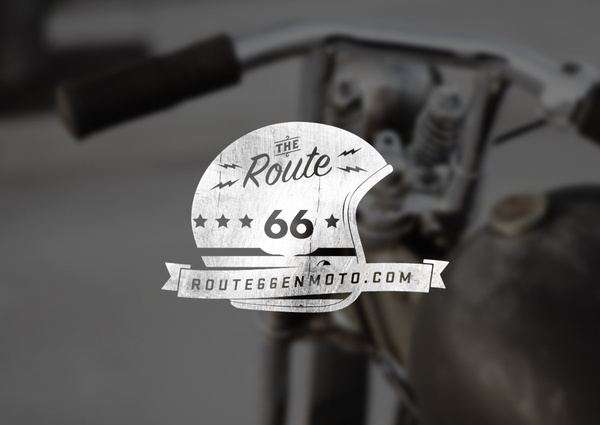 Route66 on Behance #logo #identity
