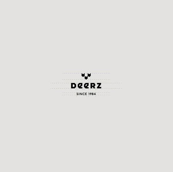 Deerz brand identity #logo