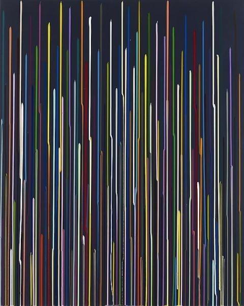 Ian Davenport   PICDIT #color #design #paint #painting #art