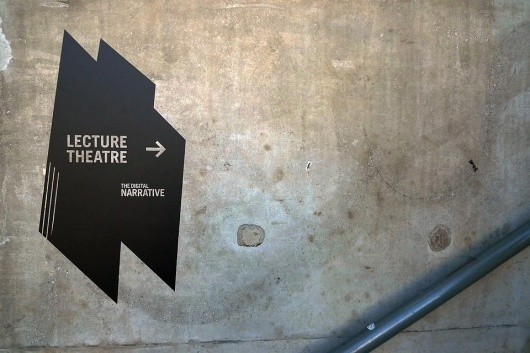 Vince Lo—The Digital Narrative #design #carr #exhibition #vinyl #environmental #signage #emily