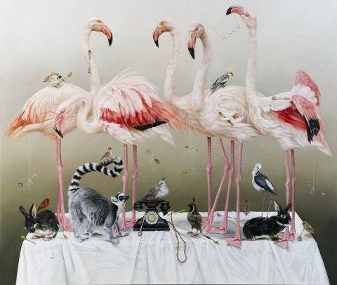 Kate Bergin | PICDIT #painting #animal #art