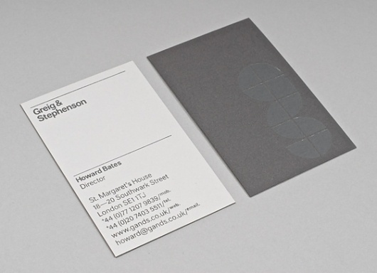 Wire Design - Selected Projects - Greig & Stephenson #card #design #graphic #wire