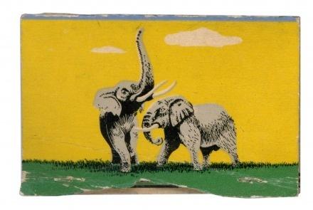 Like Blog | The Matchbook Registry | Rilex House #illustration #elephants #matchbook