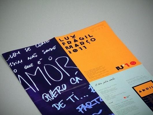 Flickr: Your Photostream #luxfragil #design #orange #alva #typography