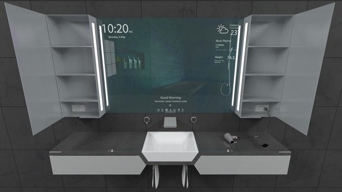 Reece Bathroom Innovation Award finalist Sanctus project by Rene Linssen - www.homeworlddesign. com (8) #interior #design #inovation