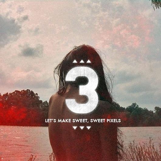 Let's Make Sweet, Sweet Pixels Pt. 3 - Designers.MX #photography #typo #typography