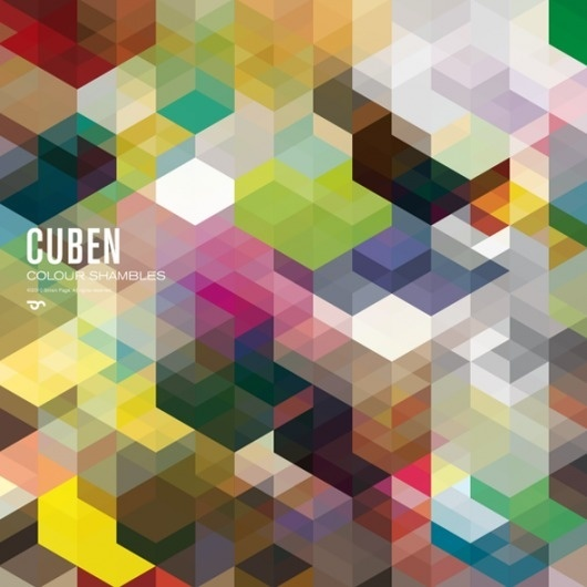 Cuben Posters / Simon C Page | Design - Architecture - Magazine / Webzine - Inspiration / Tendance #pattern #c #page #texture #simon #poster #cube