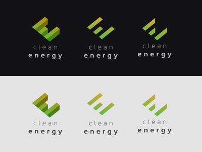Clean Energy Logo Exploration #branding #logo #identity