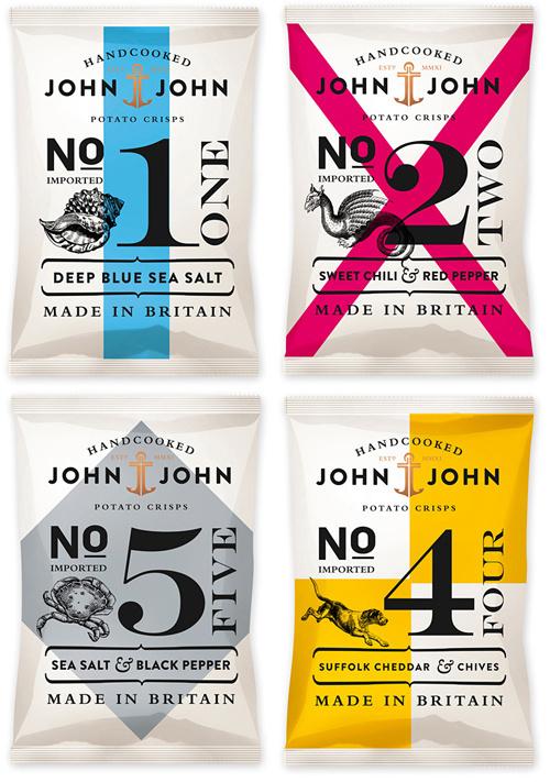 John & John Packaging #packaging #chips