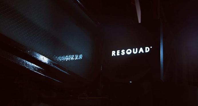 Resquad signage