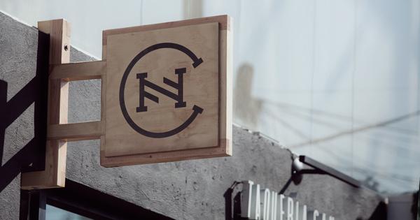 manifesto futura www.mr cup.com #logo #wood #cn #name plate
