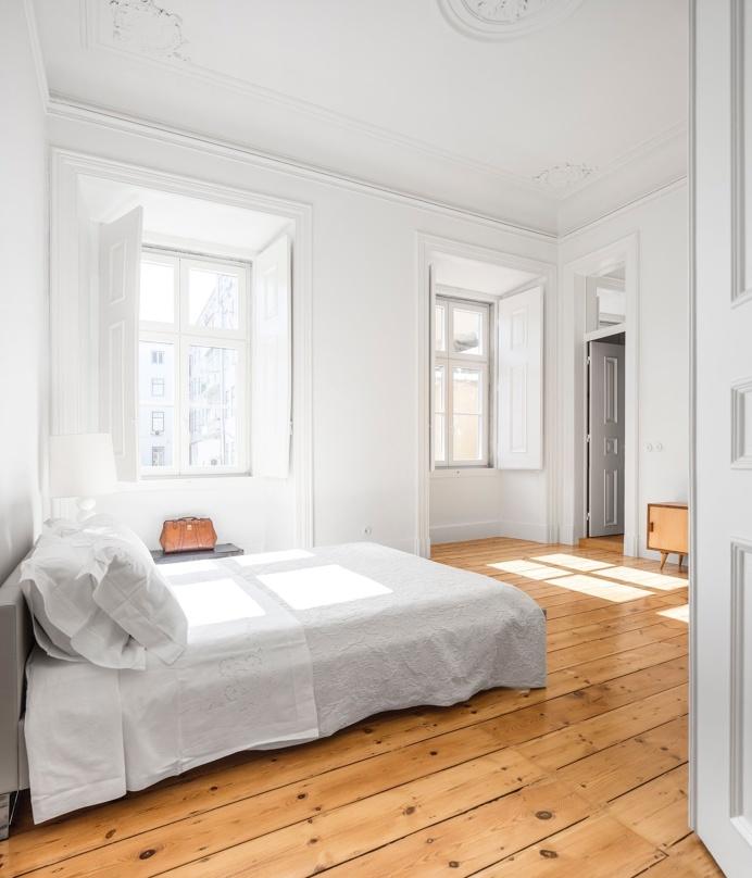 Apartment NANA by rar.studio. Photo © FG+SG. #bedroom #minimal #rarstudio #fgplussg